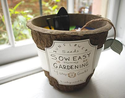 Jiffy Sow Easy Gardening Kit