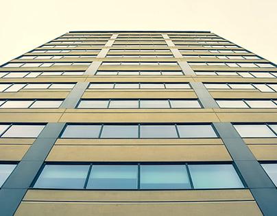 ( building ) Plaça de Willy Brandt - Barcelona Spain