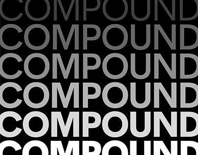 Compound Sans Typeface — Variable Width Fonts