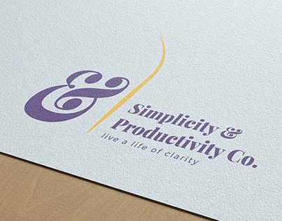 Simplicity & Productivity Co. Visual Identity