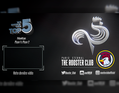 Rooster Club Top 5 3D Outro