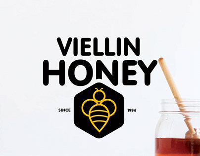 Viellin Honey Logo Design & Branding