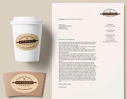 Branding & Corporate Design: Jute Bäckerei