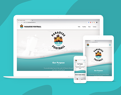 Paradise Football Branding and Website