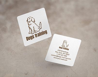 Dogs Training Logo