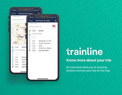Trainline - Trip information
