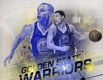 Golden State Warriors NBA Finals graphic