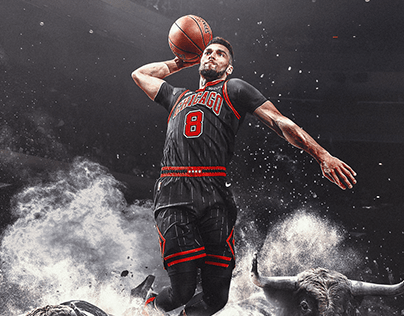 Zach LaVine Real Time Performance Graphic