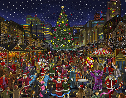 Kamiyacho Christmas