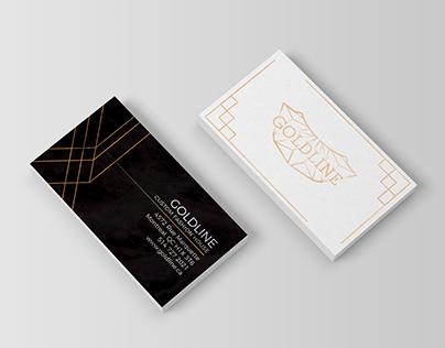 Goldline Business Card & Logo