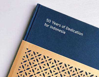 Book Design | Citi 50th Anniversary