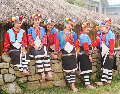 特富野部落・鄒族・阿米斯音樂節宣傳照
