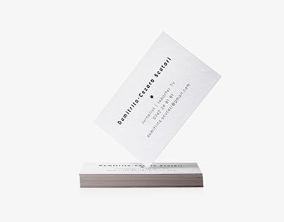Business Card - Dumitrita Scutari