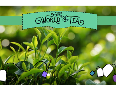 The World of Tea Pamphlet