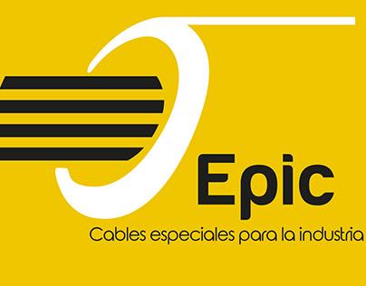 Diseño corporativo EPIC CABLES ESPECIALES