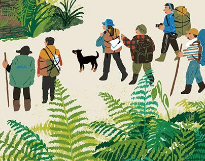 《布農族舊部落研究》海報設計