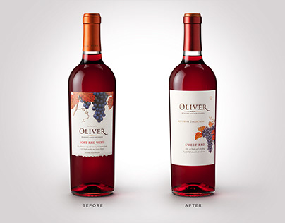 Affinity Creative's Sweet Design for Oliver Winery