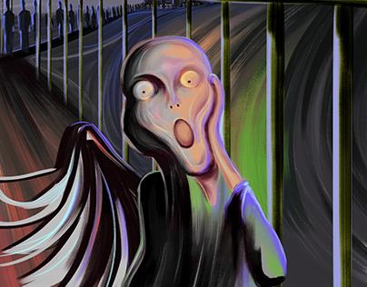The Fading Scream
