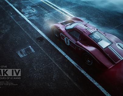 FORD GT40 MK IV
