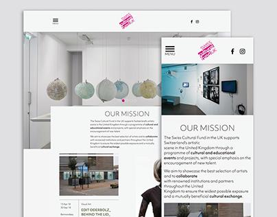 Swiss-Cultural-Fund-Website