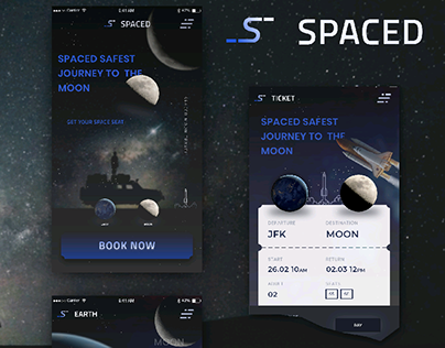 SPACED challenge Booking App