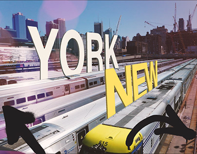 NYC 3D TEXT