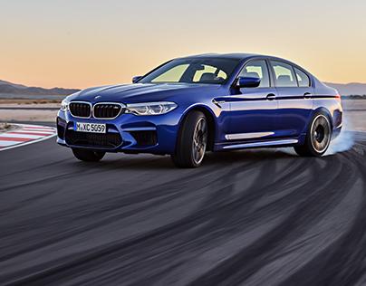 Exterior Design for BMW M5(2018)