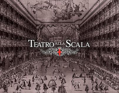 Teatro alla Scala   website redesign