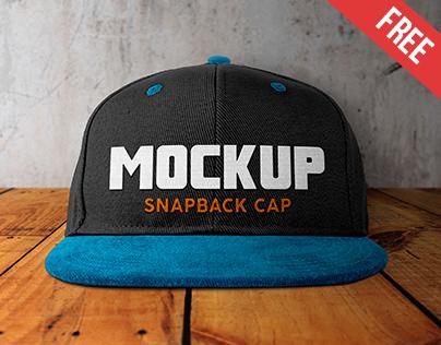 snapback mockup