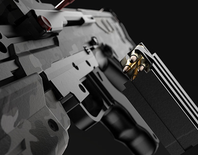 Halo Battle Rifle Renders