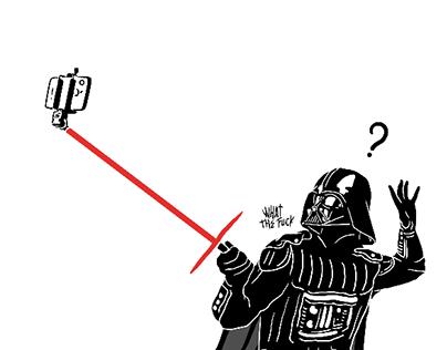 """Darth Vader """"Real Life"""""""