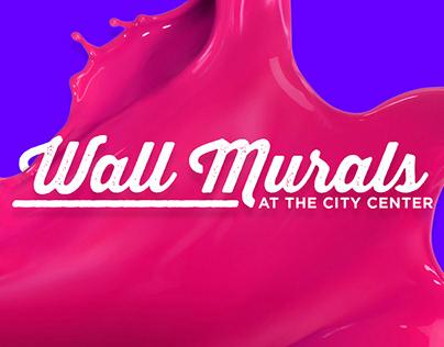 SM North EDSA - Wall Murals at the City Center