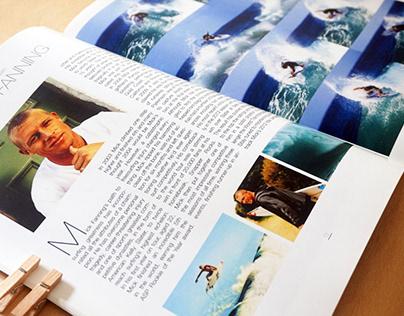 """Surfer Magazine"" - Graphic Design"