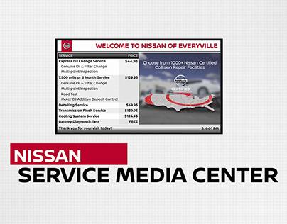 Nissan Service Media Center - Promo Video
