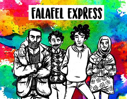 Video Animati per Falafel Express