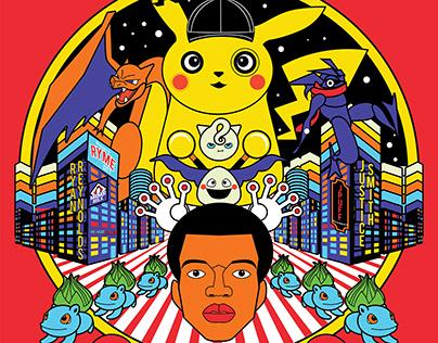 Pokemon: Detective Pikachu - Vector Poster