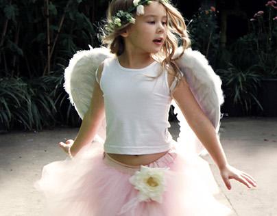 Tutu fairy photoshoot