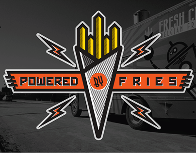 Powered By Fries Food Truck