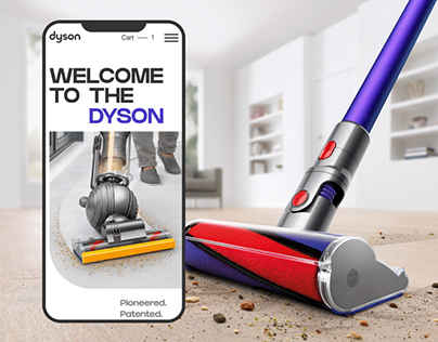 Dyson — corporate website