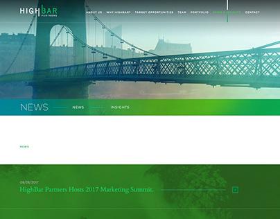 HighBar Partners Website