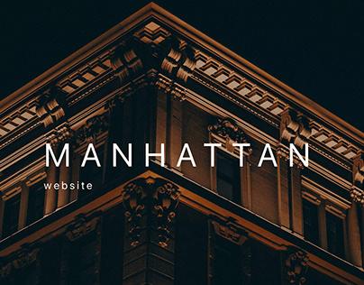 Manhattan - Premium real estate website