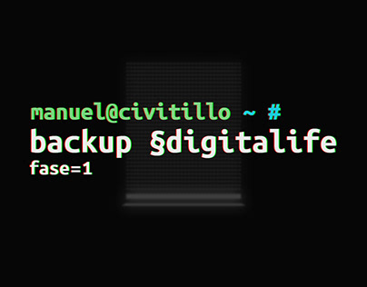 backup §digitalife fase=1