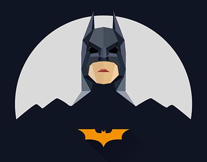 Super heroes icon design(flat series 3)