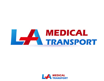 Logo: LA Medical Transport