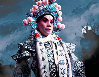 Super Hero X Chinese Opera