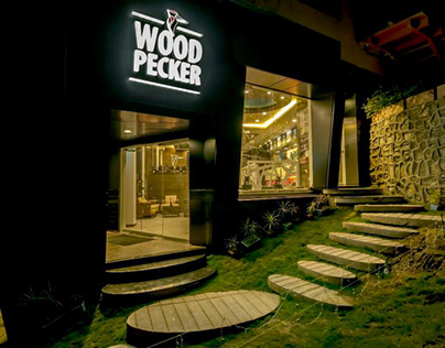 PROJECT: WOODPECKERS CAFE