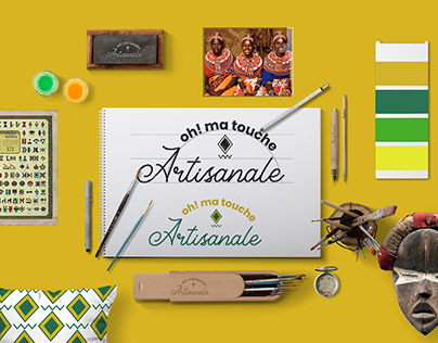 Brand identity of ''Oh! ma touche artisanale''