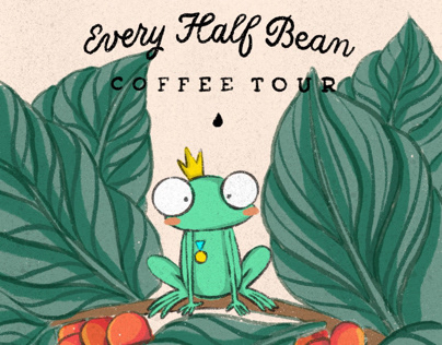 HOÀNG TỬ ẾCH - Every Half Bean Coffee tour