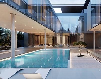 UAE,DUBAI,villa landscape design 2020