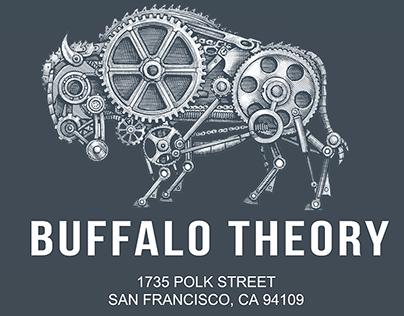 Buffalo Theory Logo Illustrated by Steven Noble